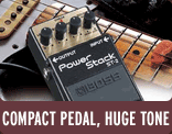 Compact Pedal, Huge Tone