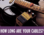How Long Are Your Cables?